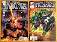 Thanos #18 A + B Venom 30th Set Donny Cates Ghost Rider 1st Print Marvel  NM+