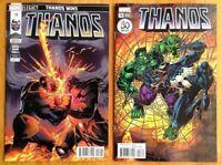 Thanos #18 A + B Venom 30th Set Donny Cates Ghost Rider 1st Print Marvel  NM+