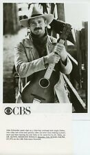 JOHN SCHNEIDER GUITAR PORTRAIT DR QUINN MEDICINE WOMAN ORIGINAL '93 CBS TV PHOTO