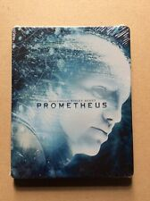 Prometheus Blu Ray Steelbook - Rare Edition - New Sealed
