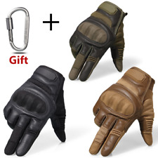 Pair of Multifunctional Military/Tactical Gloves with screen touch ability