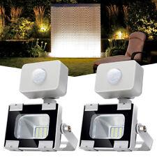 2X 10W LED Fluter Scheinwerfer Außen Mit Bewegungsmelder Outdoor Gartenlicht SMD