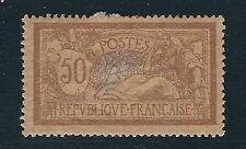 France Scott #123b – 50c Liberty & Peace – Mint – Selvedge Used as Hinge