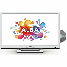 "ALBA 24"" Inch HD Ready Digital Freeview LED TV DVD Combi Combo USB HDMI - WHITE"