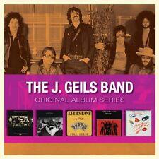 J Geils Band ORIGINAL ALBUM SERIES Box Set FULL HOUSE Bloodshot NEW SEALED 5 CD