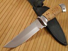 N8 N-8 Combat Camping Fishing Hunting knife Zlatoust Russian birch bark 40x10c2m