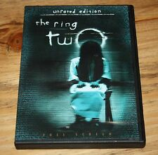 The Ring Two (DVD, 2005, UNRATED - FULL FRAME) NAOMI WATTS ~HORROR~UNRATED MOVIE