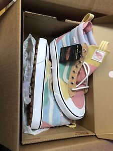 Vans Sk8-Hi MTE 2.0 DX Pastel Blue, Pink & Purple Shoes
