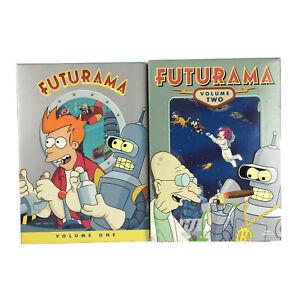 Futurama Volume 1 and 2 DVD Box Sets REGION 1 NTSC USA