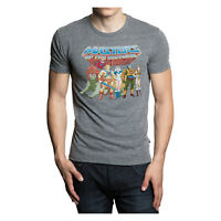 """He-Man """"Masters of the Universe Heroes"""" Men's Gray T-Shirt - Multiple Sizes"""