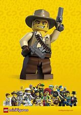 Lego minifigures Series 1 Cowboy Very Rare seled figures Free Shipping