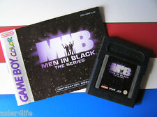 MEN IN BLACK THE SERIES + INSTRUCTION BOOKLET - GAME BOY COLOUR - GBC