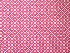"""Laura Ashley pop art mod wallpaper roll orange lime green 27"""" wide x 9 yds"""