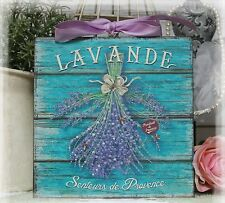 """LAVANDE"" ~ Vintage ~ Shabby Chic Country Cottage Chic style ~ Wall Decor Sign"
