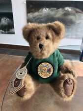 "Boyds Bear Country I Survived Toy Stuffed Teddy Bear 10"" Boyds Green Jacket"