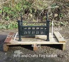 Arts and crafts Firebasket suitable for an open fire.