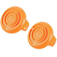 2 Pack WORX Spool Cap Cover WA6531 50006531 for Cordless Grass Trimmer WG151