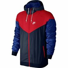 Nike Air Windrunner Jacket Navy Red White Obsidian Sz X-Large 727324-452