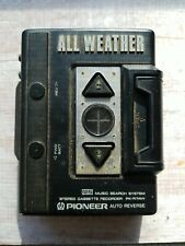 Vintage Pioneer All Weather personal stereo cassette recorder Pk-R7Aw Walkman