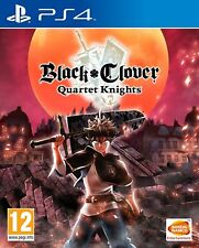 Black Clover Quartet Knights PS4 Game