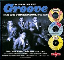 Move With The Groove  The Onederful MarVLus Story (Rigid Digibook) [CD]