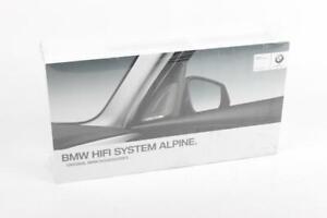 NEW OEM BMW f20 f22 f30 f32 f33 Alpine Hifi Sound System Set Kit 65412413270