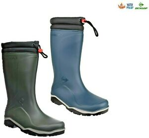 Dunlop Wellies Boots Blizzard Thermal Fleece Lined Wellingtons Mucker 4 - 13