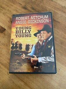 RARE YOUNG BILLY YOUNG MOVIE DVD LIKE NEW WESTERN ADVENTURE ROBERT MITCHUM