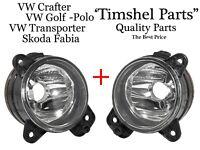2 Stück Nebelscheinwerfer  für VW T5 + SKODA FABIA 6Y2 NSW HB4 LINKS+RECHTS