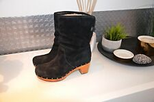 UGG boots in pelle NP. 320 € Mis. 41-Nero/Marrone