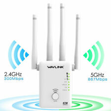 WiFi repeater and router, 2.4g& 5g Wireless-N range extender Ac1200 dual-band