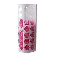 2x IKEA Plastic Bag Dispenser Kitchen Bags Storage Holder Toilet White