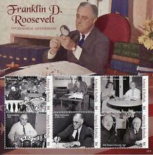 Antigua & Barbuda 2019 MNH Franklin D. Roosevelt 6v M/S US Presidents Stamps