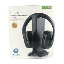 Avantree Ht280 Wireless Headphones For Tv Watching With 2.4G Rf Transmitter Char