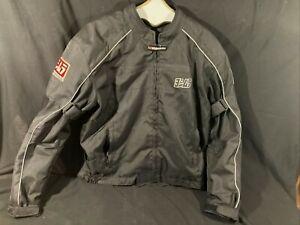 Yoshimura Black Armored Motorcycle Jacket Men's XL