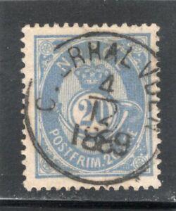Norway used - Scott 44a; NK 54 IIa - VF