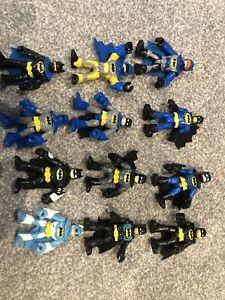 Imaginext DC friends batman figures bundle x12 super rare batman variants