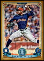 Framber Valdez 2019 Topps Gypsy Queen 5x7 Gold #217 RC /10 Astros