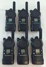Motorola CLS1110 5-Mile 1-Channel UHF 2-Way Radio Good Condition Lot of 6