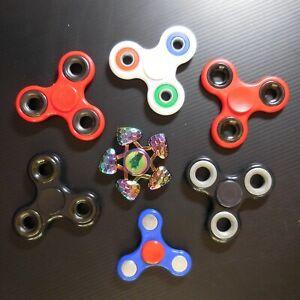 7 SPINNERS FIDGET HAND toupie roulement à billes jeu jouet contemporain N5425