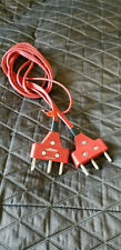 Allstar Fencing Epee Electric Body Cord (Red Color) Three Prong