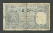 More details for france  20 francs  1917  krause 74  vg  banknotes
