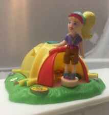 Vintage 1998 Polly Pocket Tent ⛺️ Camping -Action Park. Bluebird Toys.