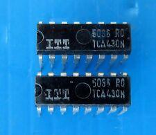 2 ITT TCA430N -4 in 1 Organ Oscillators New Old Stock 16-pin