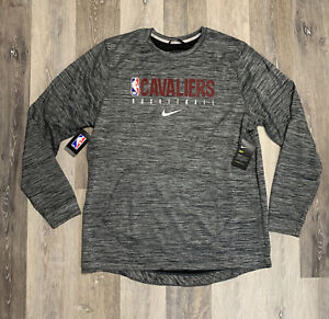 Nike Cleveland Cavaliers Showtime Sweatshirt Gray Men's Size XL Tall TEAM ISSUED