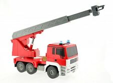 Remote Control 1:20 RC Functional Red Fire Truck Toy, Lights And Sound E517-003