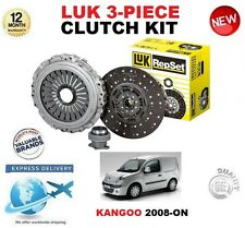 para Renault Kangoo 1.6 16v LPG HiFlex 2008-on Adelante Original LuK 3 piezas