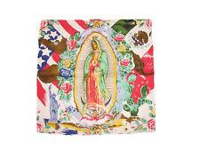 55.9cmx55.9cm México Vírgen Mary Jane Guadalupe Algodón Calidad PREMIUM BANDANA