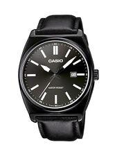 Casio Collection Armbanduhr Herren Edelstahl Schwarz Datum MTP-1343L-1B1EF