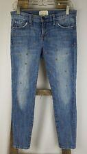 Current Elliott women 26 skinny jeans The Stiletto Saratoga star print denim